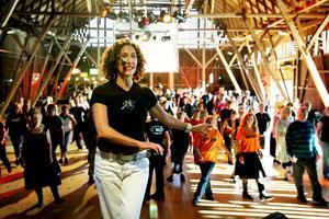 2006. Kate Sala lever på att resa runt i världen och lära ut sina danser. I lördags var hon i Skultuna. Bild: Jonas Bilberg