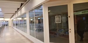I Lunagallerian står två stora lokaler tomma i väntan på nya hyresgäster.