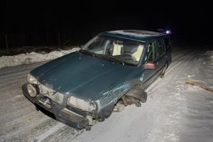 Trafikolycka på E4 norr om Torsboda
