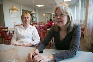 Om BB öppnar igen ska det inte vara några problem att rekrytera personal, hävdar Maria Dahlberg (tv) och Annika Safrani.
