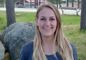 Stephanie Budrock tycker att det är lagom anonymt att bo i Falun.
