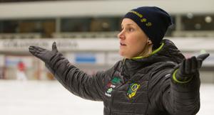 Johanna Pettersson, Skutskärs guldtränare.