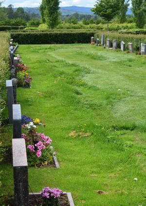 I fortsättningen kommer kyrkogårdspersonalen att köra runt gravplatser som det saknas skötselavtal för.