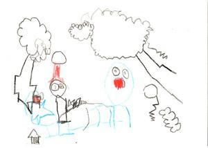 7:e pris Oskar Stenmark, 6 år, Krokom. Kategori 6-8 år.