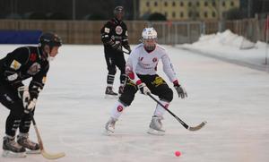 Emil Kelter gjorde sitt andra mål för säsongen mot Gustavsberg.
