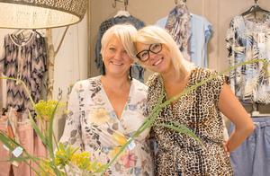 Ulrika Erickson och Johanna Aulin trivs med att arbeta tillsammans.