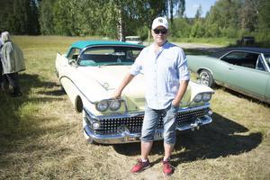Peter Jansson från Ensillre visade upp sin bil från 1958.