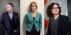 Jan Johansen, Ingela Korsell och Ebba Witt-Brattström är tre av de medverkande under kulturveckan i Nynäshamn.