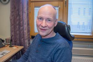 Göran Larsson, verksamhetsplanerare på gymnasieförbundet.