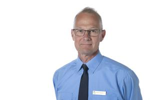Peder Jonsson, presstalesperson vid polisen i Region Nord. Bild: Polisen