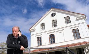Hussborg golfklubbs ordförande Gunnar Dahl ser fram emot fredagens premiär då banan i Ljungaverk öppnar för en ny säsong.