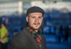 Rasmus Eriksson, 27, musiklärare, Sundsvall.