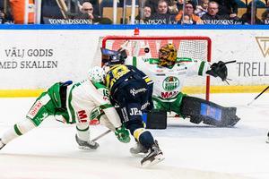 Anton Bengtsson gör mål.
