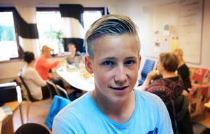 – Dalarna ska bli Sveriges bästa ungdomsregion och då passar det här in, säger Casper Karlqvist, elevkulturombud.