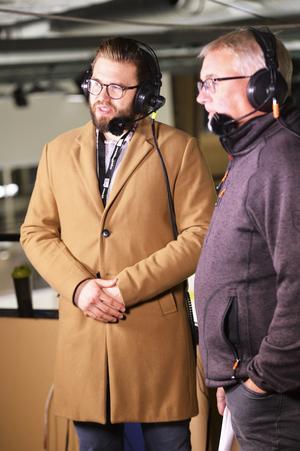 Mathias Andersson, till vänster är glad över att dt.se och dalademokraten.se sänder Moras samtliga matcher under försäsongen – med start redan på onsdag.