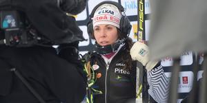 Charlotte Kalla är första kvinna att toppa Retrievers lista över Sveriges mest omskrivna idrottsprofiler.
