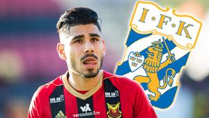 Hosam Aiesh lämnar ÖFK för IFK Göteborg, erfar Sporten. Bild: Johan Axelsson/Bildbyrån.