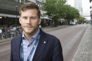 Christopher Forsberg, tjänsteman i beredskap på Västerås stad.
