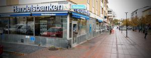 Nu tar som sista bank i Kramfors även Handelsbanken bort kontanthanteringen och blir ett kontantfritt bankkontor.