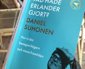 Suhonens senaste bok. Läs den! Foto: Göran Greider.