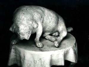 Skulpturen Ceasar som köptes av Moderna museet 1966.