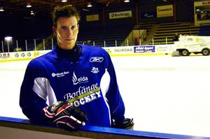 Anders Lövdahl, Borlänge Hockey. Foto: Bjarne Solum/Arkiv.