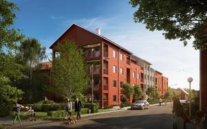 När Skoglunds vann markanvisningsavtalet för Hesseborns var detaljplanen redan klar. (Bild: Agnasark/Uvr Nordic)