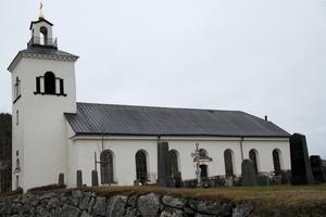 Hassela kyrka, en av kyrkorna i Bergsjö församling, Nordanstig.