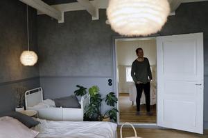 David och Matildas sovrum är ett av favoritrummen i husen.