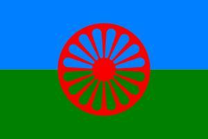 Romska flaggan.