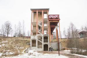 De tre männen greps vid Koppardalsbron i centrala Avesta.