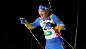 Gabriel Stegmayr vann dubbelt på herrsidan. Foto: Håkan Blidberg/Skidskytteförbundet