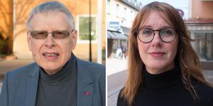 Glenn Andersson (S) och Ulrika Spårebo (S).