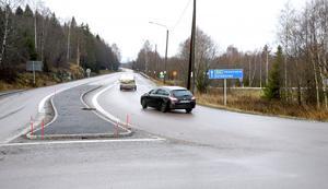 Totalt 455 miljoner kronor kostar Trafikverkets stora ombyggnad på E14.