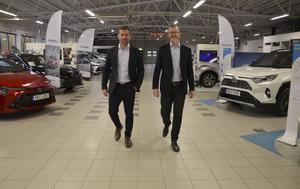 I 18 år har Toyotacenter ägts av Patrik och Leif Persson.
