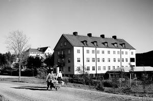 Bodaborgs sinneslöanstalt. Bild: Från Länsmuseet Västernorrlands bildarkiv