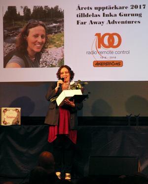 Årets upptäckare blev Inka Gurung, en