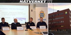 Under fredagsförmiddagen höll polisen en presskonferens i Härnösand om insatsen.