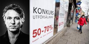 Butiker och restauranger är några av de företag som drabbas extra hårt av coronakrisen. Om vi i framtiden ska minska risken för konkurser och tomma lokaler behövs flexiblare hyresavtal, skriver Joachim Bozorgnia, vd för hyreskonsultbolaget Cresnia.
