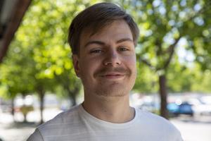 Johan Ragnvaldsson, 21 år, Uppsala (uppväxt i Falun).