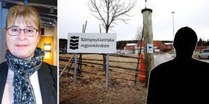 Advokat Catharina Ytterbom Schönfeldt har företrätt mannen som sitter på rättspsyk i Nacksta.