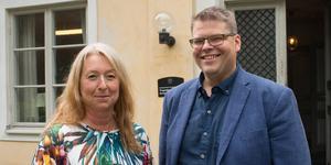 Silvergruvans vd Jennie Hesslöw och kommunalråd Anders Wigelsbo (C) ser utvecklingsarbetet som ett oerhört viktig steg i att få bolaget att stå på egna ben.