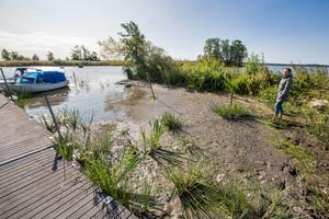Det låga vattenståndet i Hjälmaren har varit en följetong i sommar men vad gör kommunen?