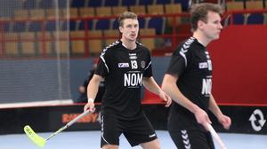 Rasmus Bergström trivs bra i sin nya centerroll.