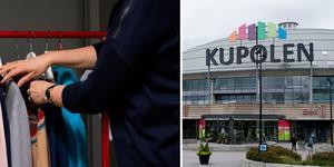 En man döms för att ha stulit kläder från en butik i Kupolen.
