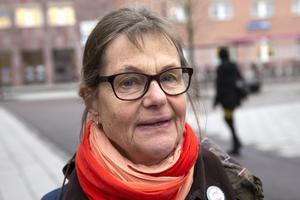 Monica Wallin, pensionär, Västerås.