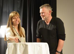 Kerstin Bergman intervjuar en svensk deckarnestor under festivalen 2015 – Arne Dahl.