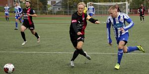 Stefan Lagergren och Timråförsvaret stoppade de allra flesta av Kramfors anfallsförsök.