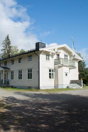 Läkarvillan som verklighetens Margareta Klingspor bodde i.