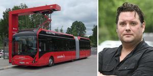 Ha en rimlig Vy om kollektivtrafiken, skriver Csaba Bene Perlenberg.